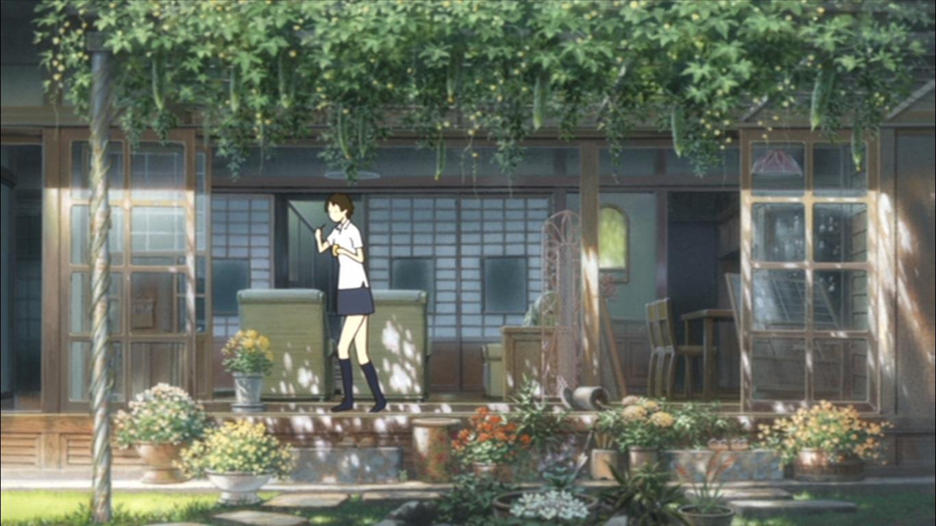 林芙美子邸がモデルとあってかなり立派な佇まい