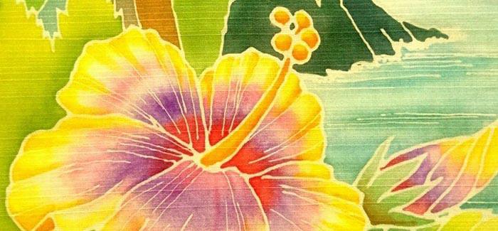 Hawaiian手描き友禅*equbo